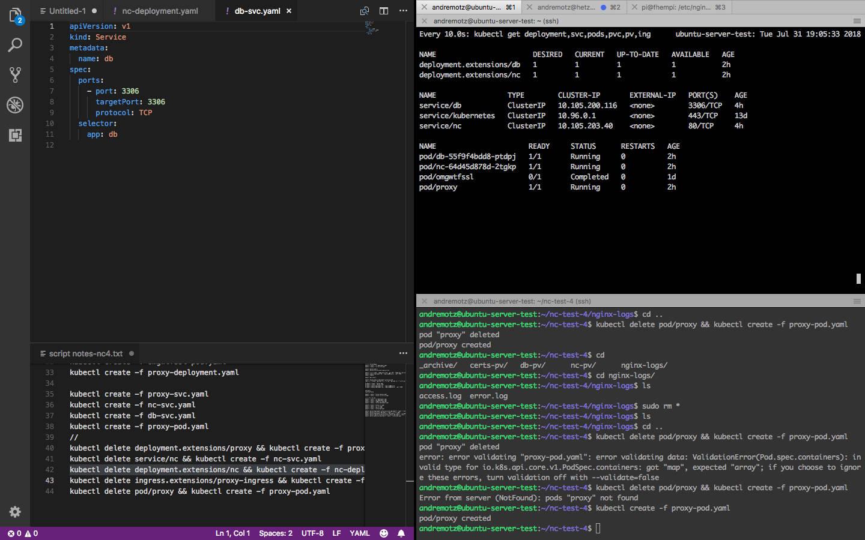 Nextcloud-Docker on Kubernetes-cluster + SSL certificates