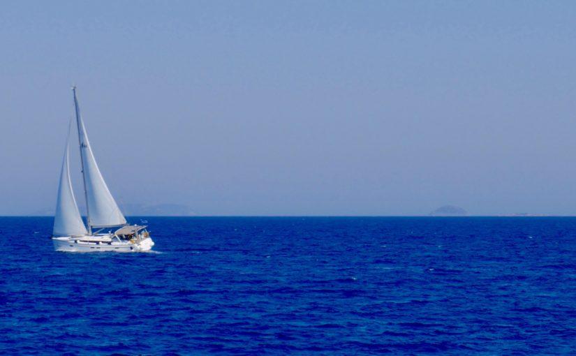 greece sailing boat